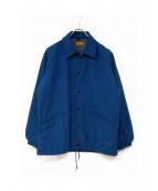 BROWN by 2-tacs(ブラウン バイ ツータックス)の古着「ナイロンジャケット」|ブルー