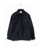 BONCOURA(ボンクラ)の古着「モールスキンシャツ」