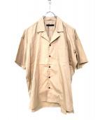 juha(ユハ)の古着「オープンカラーシャツ」 ベージュ