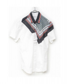 yoshio kubo(ヨシオ クボ)の古着「デザインシャツ」|ホワイト