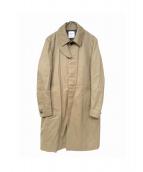 UNITED TOKYO(ユナイテッドトーキョー)の古着「ステンカラーコート」 ベージュ