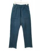 FACETASM(ファセッタズム)の古着「スウェットパンツ」|ブルー
