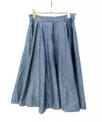 45rpm(フォーティーファイブアールピーエム)の古着「フレアスカート」|インディゴ