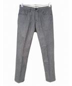 PT05(ピーティーゼロチンクエ)の古着「ウールパンツ」|ライトグレー
