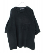 YASHIKI(ヤシキ)の古着「Shiosai Knit」|ネイビー