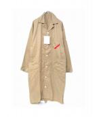 PHINGERIN(フィンガリン)の古着「ショップコート」|ベージュ