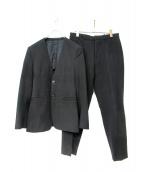 theory(セオリー)の古着「ノーカラーセットアップスーツ」|ブラック