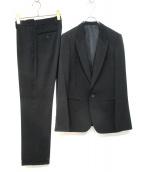 LITHIUM HOMME(リチウム オム)の古着「3Pセットアップスーツ」|ブラック