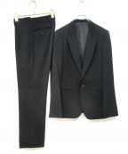 LITHIUM HOMME(リチウムオム・ファム)の古着「3Pセットアップスーツ」|ブラック