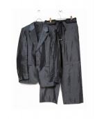 EMPORIO ARMANI EA7(エンポリオアルマーニ イーエーセブン)の古着「デザインセットアップスーツ」|グレー