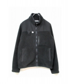 NEIGHBORHOOD(ネイバーフッド)の古着「フリースジャケット」|ブラック