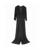 IENA LA BOUCLE(イエナ ラ ブークル)の古着「ドットオールインワン」|ブラック