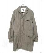 Engineered Garments(エンジニアードガーメンツ)の古着「ステンカラーコート」|ライトグレー