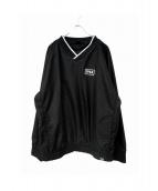 FPAR(フォーティーパーセンツ アゲインストライツ)の古着「ナイロンジャケット」 ブラック