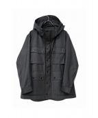BROOKLYN TAILORS(ブルックリン テーラー)の古着「フーデッドコート」|ライトグレー