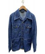 Wrangler(ラングラ)の古着「【古着】ヴィンテージデニムジャケット」|スカイブルー