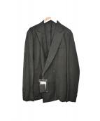 KOLOR(カラ)の古着「アンコンWジャケット」|カーキ