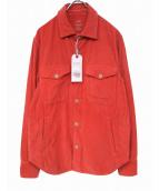 S.K.U.(セーブカーキユナイテッド)の古着「コーデュロイジャケット」|ピンク
