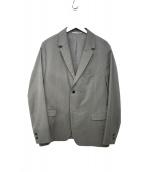 SOLIDO(ソリード)の古着「アンコンジャケット」|ライトグレー