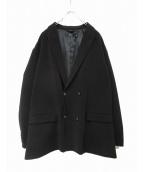 Vaporize(ヴェイパライズ)の古着「Wブレストジャケット」 ブラック