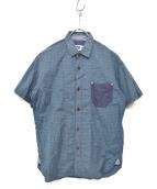 JUNYA WATANABE MAN(ジュンヤワタナベ マン)の古着「半袖シャツ」|ライトグレー