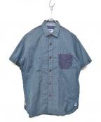 JUNYA WATANABE MAN(ジュンヤワタナベマン)の古着「半袖シャツ」 ライトグレー