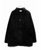 FACTOTUM(ファクトタム)の古着「デニムカバーオール」 ブラック