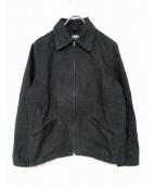 BLACK SIGN(ブラックサイン)の古着「ジップアップジャケット」 ブラック
