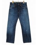 LEVIS VINTAGE CLOTHING(リーバイス ヴィンテージ クロージング)の古着「ボタンフライデニムパンツ」|インディゴ