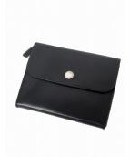 MHL.(エムエイチエル)の古着「レザー財布」|ブラック