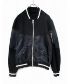 SOPHNET.(ソフネット)の古着「MA-1ジャケット」 ブラック