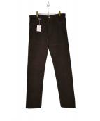 R.CARUSO(ラファエル・カルーゾ)の古着「モールスキンパンツ」|ブラウン