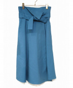 THE IRON(アイロン)の古着「スカート」 ブルー