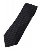 CHANEL(シャネル)の古着「総柄ネクタイ」|ブラック