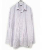 THEE(シー)の古着「ストライプシャツ」|ブルー×レッド