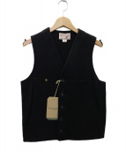 FILSON GARMENT(フィルソンガーメント)の古着「マッキーノウールベスト」|ブラック