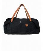 FJALLRAVEN(フェールラーベン)の古着「オイルドバッグ」 ブラック