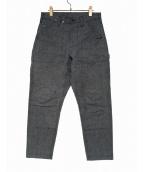 BROWN by 2-tacs(ブラウン バイ ツータックス)の古着「DOUBLE KNEE PANTS」|グレー