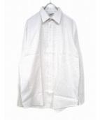 HERMES(エルメス)の古着「ドレスシャツ」|ホワイト