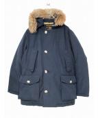 WOOLRICH(ウールリッチ)の古着「アークティックダウンコート」|ネイビー