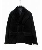 Engineered Garments(エンジニアードガーメンツ)の古着「Wコーデュロイジャケット」|ブラック