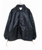 yoshio kubo(ヨシオクボ)の古着「コーチジャケット」|ブラック