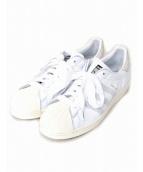 adidas(アディダス)の古着「レザースニーカー」 ホワイト