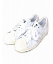 adidas(アディダス)の古着「レザースニーカー」|ホワイト