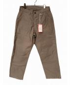 union special overalls(ユニオンスペシャルオーバーオールズ)の古着「ベイカーパンツ」|ベージュ