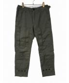 Engineered Garments(エンジニアードガーメンツ)の古着「ベイカーパンツ」|カーキ