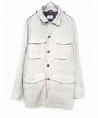 BRUNELLO CUCINELLI(ブルネロ クチネリ)の古着「コート」|ホワイト