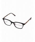 金子眼鏡(カネコメガネ)の古着「セルロイド眼鏡」|ブラック