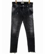 ALYX(アリクス)の古着「BACK ZIP DENIM PANT」 インディゴ