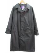 THE NORTHFACE PURPLELABEL(ザノースフェイスパープルレーベル)の古着「ステンカラーコート」 ブラック
